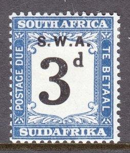 South West Africa - Scott #J84 - MH - SCV $2.75