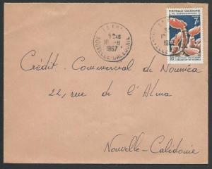 NEW CALEDONIA 1967 local cover LA FOA cds..................................10141