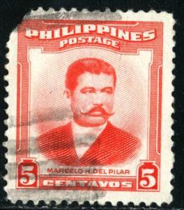 PHILIPPINES #592, USED FAULT- 1953 - PHILIP015