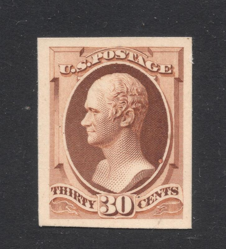 US#217P-4 - Proof on Card - Superb
