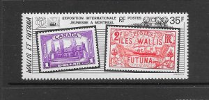 WALLIS & FUTUNA  #422  CANADA '92 EXPOSITION   MNH