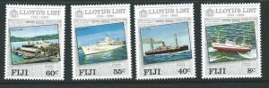 FIJI SG675/8 1984 LLOYDS OF LONDON MNH