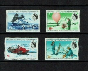 British Antarctic Territory:  1965  25th Anniversary Scientific Work,  Mint set