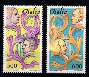 Italy 1985 Aureliano Pertile and Giovanni Martinelli Set [Mint]
