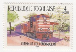 Togo, Sc 1267, MNH, 1984, Locomotive