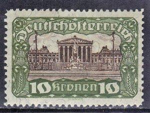 AUSTRIA SC# 225 **MH** 10k   1920    SEE SCAN