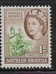 SOUTHERN RHODESIA  82     MNH     TOBACCO PLANTER