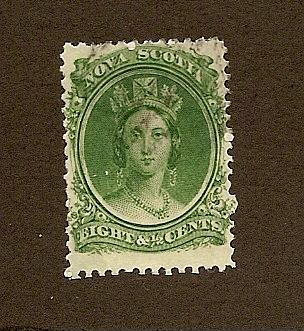 Nova Scotia Scott #11  Used  Scott CV $16.00