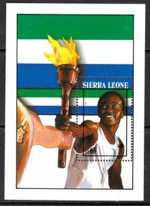 Sierra Leone, Sc 974. MNH, 1988, Torch-bearer, (LL02357)