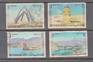 UNITED ARAB EMIRATES U.A.E. SC# 18,19,21,22 USED