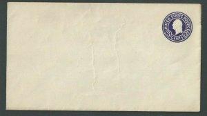 1935 U436E 3c Purple On White Mint Entire Die 146 Size 13