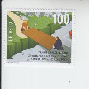 2018 Switzerland Swiss Mountain Aid (Scott 1663) MNH