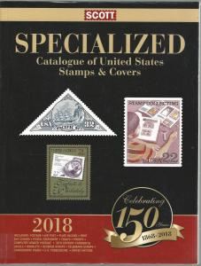 2018 Specialized United States Stamps and Covers