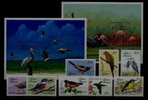 Antigua 1073-82 MNH Birds SCV24.10