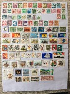 German 100+ stamps - Lot 13
