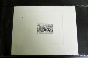 Senegal 1960 Trial Color Proof Signed by Artist