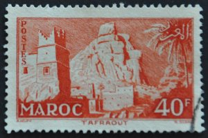 DYNAMITE Stamps: French Morocco Scott #325 - USED
