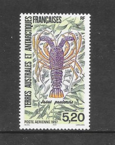 LOBSTER - FRENCH SOUTHERN ANTARCTIC TERRITORIES  MNH