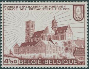Belgium 1978 SG2524 4f.50 Grimbergen Abbey MNH