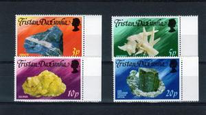 Tristan Da Cunha 1978 Minerals set (4) Perf. Scott #239-242