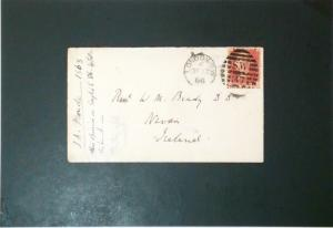 Great Britain 1868 Cover / J A FroudeSigned - Z3393