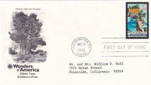 2006, Oldest Trees-Bristlecone Pines, PCS, FDC (E11341)