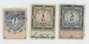 Austria Cinderella Revenue Fiscal stamp 9-19-21 as seen- 4f