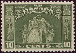 Canada - 1934 10c Loyalists mint VF-NH #209
