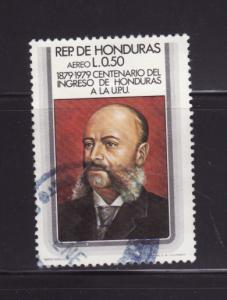 Honduras C671 U UPU, President Marco Aurelio Soto (C)