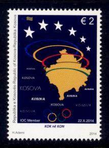 Kosovo Sc# 266 MNH IOC Membership