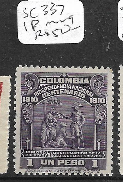 COLOMBIA (PP1903B)  1P  SC  337  MOG