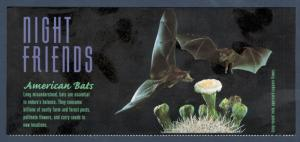 3661 Bats Panel No Stamps Mint FREE SHIPPING
