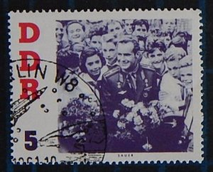 Space, DDR, Germany, Titov's Visit to DDR - Cosmonaut,1961, (2492-Т)