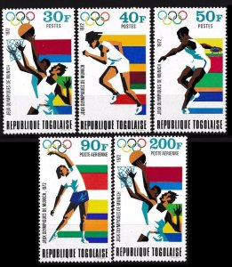 1972 Togo 930-934 1972 Olympic Games in Munchen 6,50 €