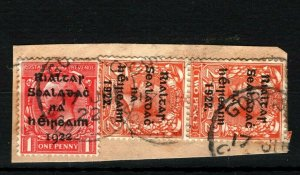IRELAND 1922 Free State Overprints EIRE *Gort S.O. Galway* CDS Postmark MS2243