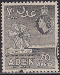Aden 54a USED 1956 Salt Mill