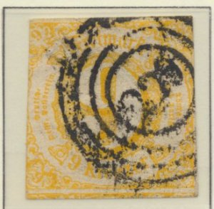 Thurn and Taxis Stamp Scott #50, Used - Free U.S. Shipping, Free Worldwide Sh...
