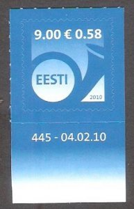 2010 Estonia 656 Post Horn 1,50 €