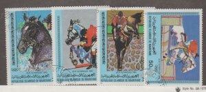 Mauritania Scott #446-449 Stamps - Used Set