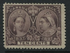 Canada QV 1897 10 cents Jubilee mint o.g.