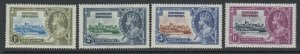 Northern Rhodesia, Scott 18-21 (SG 18-21), MNH