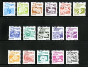 NICARAGUA 1828-1843 MNH SCV $54.45 BIN $27.50 FLOWERS