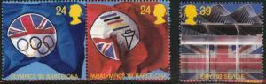 Great Britain Scott 1451-1453 MNH** 1992 set