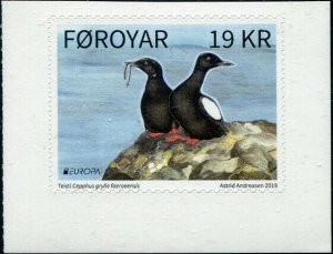 HERRICKSTAMP NEW ISSUES FAROE ISLAND EUROPA 2019 Birds Booklet