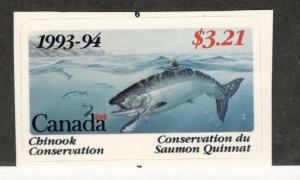 1993-94 Canada  British Columbia Chinook Conservation Stamp