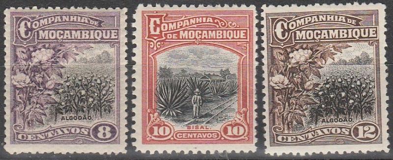 Mozambique Company #125-8   F-VF Unused  CV $4.00  (A15086)