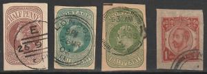 Great Britain Used Envelope stamps