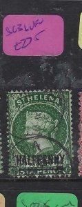 ST HELENA  (P0705BB)  QV  1/2D  SG 36    CDS     VFU