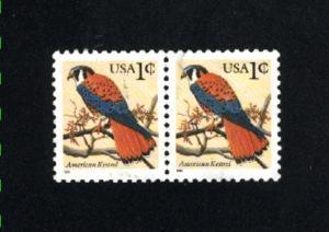 USA #2477  used pair 1990-95 PD .12