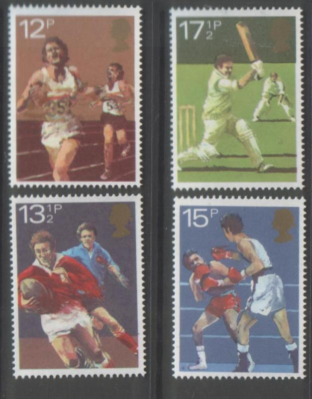 Great Britain 1980 Sport (4) Scott #924-927